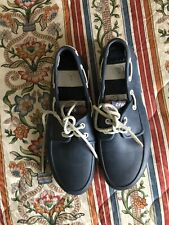 CROCS BLUE BOAT SHOES SZ 8