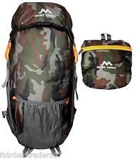 Mount Track 9303 Foldable Waterproof Travel/Hiking Backpack,Rucksack Camouflage