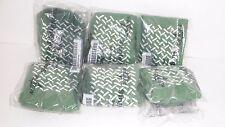 Medline Terrycloth Single Tread Green Slipper Socks Medium 6 Pair