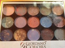 Alluring Eyeshadow Palette Giordano 15 Colors #2 New In Box