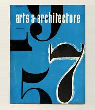 1957 Poul Kjaerholm ARTS + ARCHITECTURE Gregory AIN Don KNORR Charles KRATKA
