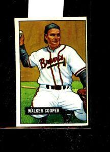 1951 BOWMAN #135 WALKER COOPER BRAVES EXMINT E01499