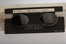 Matsuda 10112SF AG / Vintage Matsuda clips / NOS / 90s / Only one clip