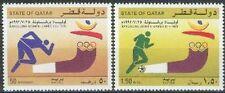 Qatar 1992 ** Mi.991/92 Fußball Football Olympische Spiele Olympic Games