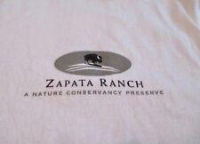 Zapata Ranch Nature Conservancy T Shirt L Colorado Ranch Conserve Live New
