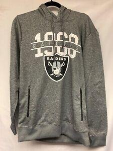 NFL Oakland Raiders Men's Medium Pullover Hoodie Sweatshirt Size M
