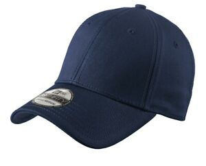 New Era 39Thirty Stretch Cotton Fitted Hat NE1000 - Choose Size and Color
