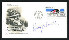 Bobby Unser Certified Authentic Autographed Signed First Day Cover 164927