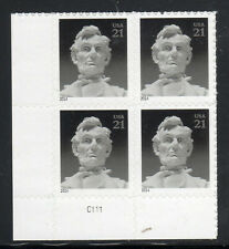 Sc# 4860 21 Cent Abraham Lincoln (2014) MNH PB/4 P# C111 LL SCV $1.80