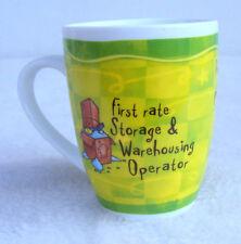 Mug Warehousing Worker Porcelain Ceramic Coffee Tea Cup Warehouse Storage