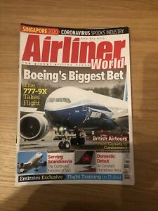 Airliner World Magazine, April 2020, Used