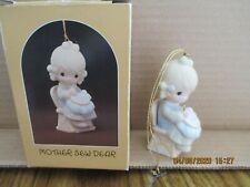 Precious Moments 1983 Ornament Mother Sew Dear E-0514