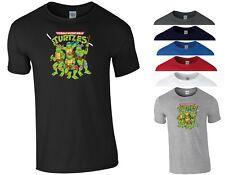 9dee214f1 Ninja Turtles T Shirt Teenage TMNT Mutant 90s Cartoon Birthday Gift Men Tee  Top