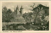 Ansichtskarte Schmalkalden Blick zur Stadtkirche  (Nr.9032)