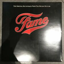 """Fame (The Original Soundtrack From The Motion Picture) Vinyl 12"""" Album UK 1980"""