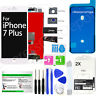 For White iPhone 7 Plus LCD Display Touch Screen Replacement Kit + 2 Protectors!