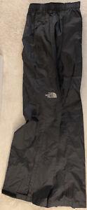 The North Face Mens Venture 2 Half Zip Black Pants Size S