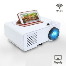 Full HD 1080P Portable Home Theater Movie Video Mini Projector with WIFI Sync