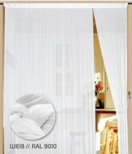 Fadenvorhang Vorhang Gardine Kaikoon 400 x 300 cm (BxH) Farbe Weiß