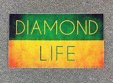 Diamond Supply Co DIAMOND LIFE Skateboard Sticker 5in si