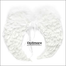 Dollmore BJD Article Size SD - Round feathers wings (White)