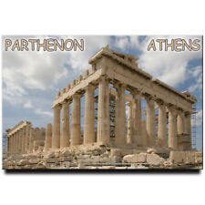 Parthenon fridge magnet Athens Greece travel souvenir
