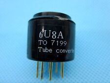 2piece*Gold plated 6U8 ECF82 6F2 TO 7199 tube CONVERTER ADAPTER