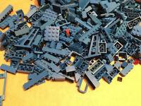 510 blaue Teile Bricks Steine gemischt - WORLD CITY   EISENBAHN   TRAIN