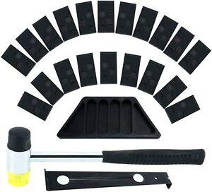 Laminate Wood Flooring Installation Kit Tapping Block Pull Bar Mallet 20 Spacers