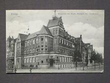 Ansichtskarte Emden, Ringstraße mit Westf. Transport AG, Echtfoto 1914 Feldpost