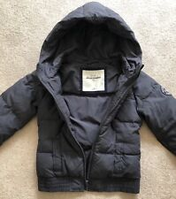 Abercrombie Kids Girls Grey Puffer Jacket Size M