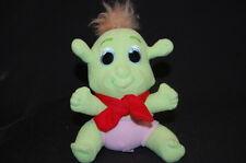 """Baby Ogre Shrek 3rd Christmas Girl Pink Diaper Plush 6"""" Toy Lovey Dreamworks"""