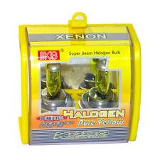 2x H4 HB2 9003 100W 3000K Xenon Super Yellow Car Headlight Bulb Fog Lamp Bulbs