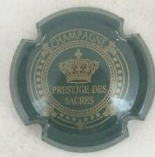 capsule champagne PRESTIGE DES SACRES n°8 vert foncé et or