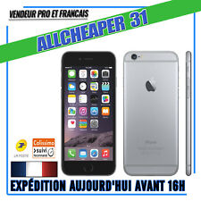 IPHONE 6S 16 GIGA SPACE GREY NOIR DEBLOQUE  BON ETAT 100 % TESTE