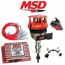 MSD Ignition Kit Digital 6AL-2/Distributor/Wires/Coil/Harness 86-93 Ford Mustang