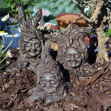 Miniature Fairy Garden Tree Sprites, Set of 3
