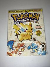 Pokemon Special Yellow Red Blue Nintendo Power Strategy Guide w/  ALL Stickers