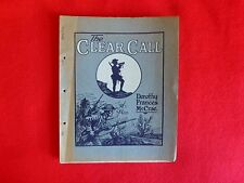 The Clear Call By Dorothy Frances McCrae (1915),