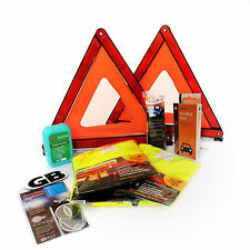 Spanish Car Travel Kit - Family Pack For Spain (Breathalyser, Triangles + More)