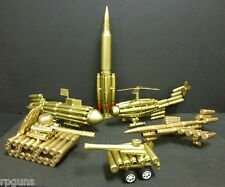 TOY Model Airplane Rocket Submarine Helicopter 2 Tanks + gift REAL BULLET CASES