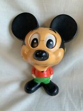 New listing Vintage 1976 Mickey Mouse pull string Chatter Chum Mattel talking toy 7� Working