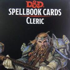 Spellbook Cards Cleric Deck Spell Dungeons Dragons D&D RPG Gale Force Nine GF9