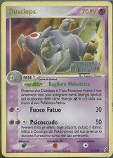 POKEMON - Dusclops - 17/100 - Holo Gold - Ex Guardiani dei Cristalli ITA EXC