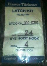 Brewer-Titchener Latch Kit Stock# 399-0301 (set of 5 latches) - NEW