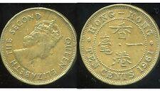 HONG KONG  10 ten cents 1961  ( bis )