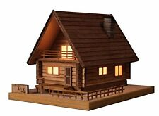 NEW Woody JOE Wooden Building Model Kit No.2 log house forest F/S