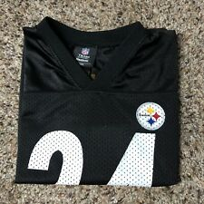 Pittsburgh Steelers Reebok Black Mendenhall kids jersey M W15xL19