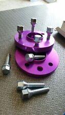 coppia distanziali ruota fiat 4*98 spessore 16 mm con bulloni 12*1.25 chiave 19