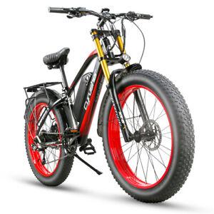 Electric Bike Cyrusher XF650 750W 17AH Motorcycle Style Fat Tire electric bike